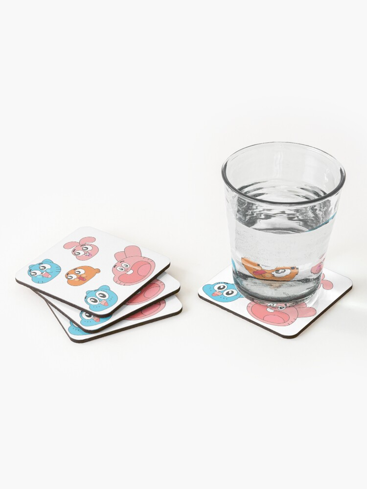 Alternate view of The Amazing World of Gumball Coasters (Set of 4)
