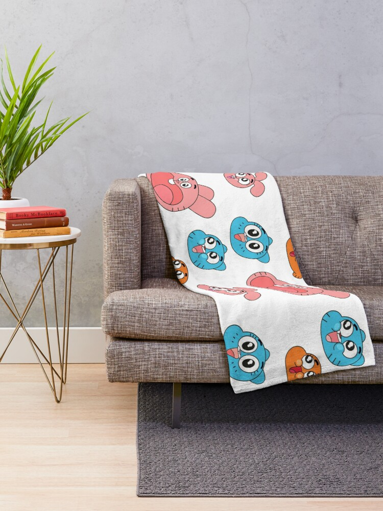 Alternate view of The Amazing World of Gumball Throw Blanket