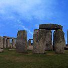 Stonehenge - Wiltshire, England by Bev Pascoe
