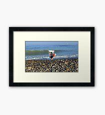 Winthrop Surfer Framed Print