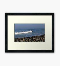 Winthrop Wave Framed Print