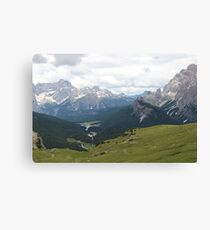 Mountains in Europe Canvas Print