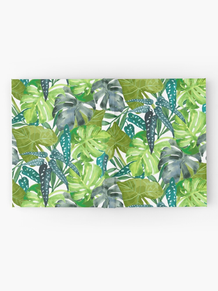 Alternate view of Tropical  Leaves Hardcover Journal