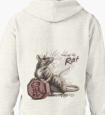 Year of the Rat Pullover Hoodie