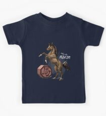 Year of the Horse (for dark shirts) Kids Tee