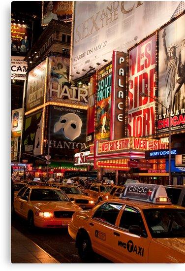 Times Square Traffic by Alex Maciag