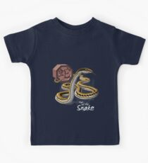 Year of the Snake (for dark shirts) Kids Tee