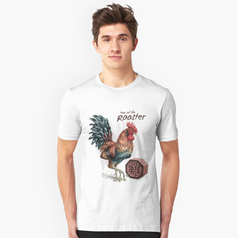 Year of the Rooster Slim Fit T-Shirt