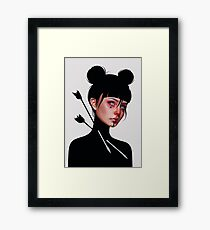 void Framed Print