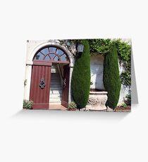 A Beckoning Doorway Greeting Card