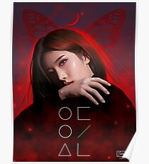 LOONA 이달의 소녀 KIM LIP Fanart - BUTTERFLY Poster