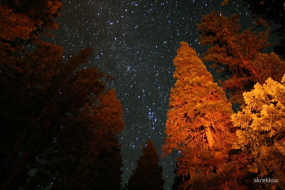 The Night sky by skreklow