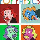 Warhol Pop-Arts Albert Einstein of Ulm by dave-ulmrolls