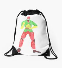 mr terrific  Drawstring Bag