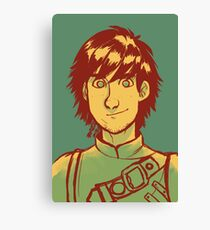 Hiccup Haddock Canvas Print