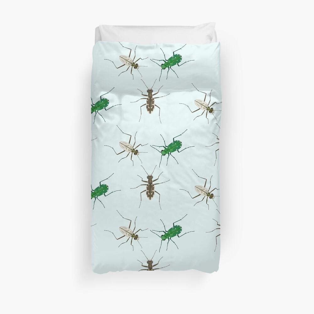 Tiger Beetle Pattern Duvet Cover
