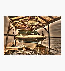 Boat out of water Photographic Print
