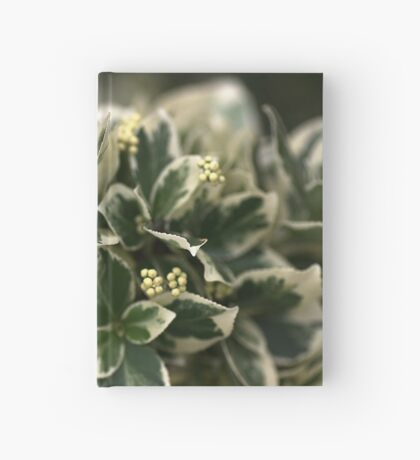 Variegated leaves Hardcover Journal