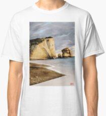 Pedra tou Romiou - colour drawing Classic T-Shirt