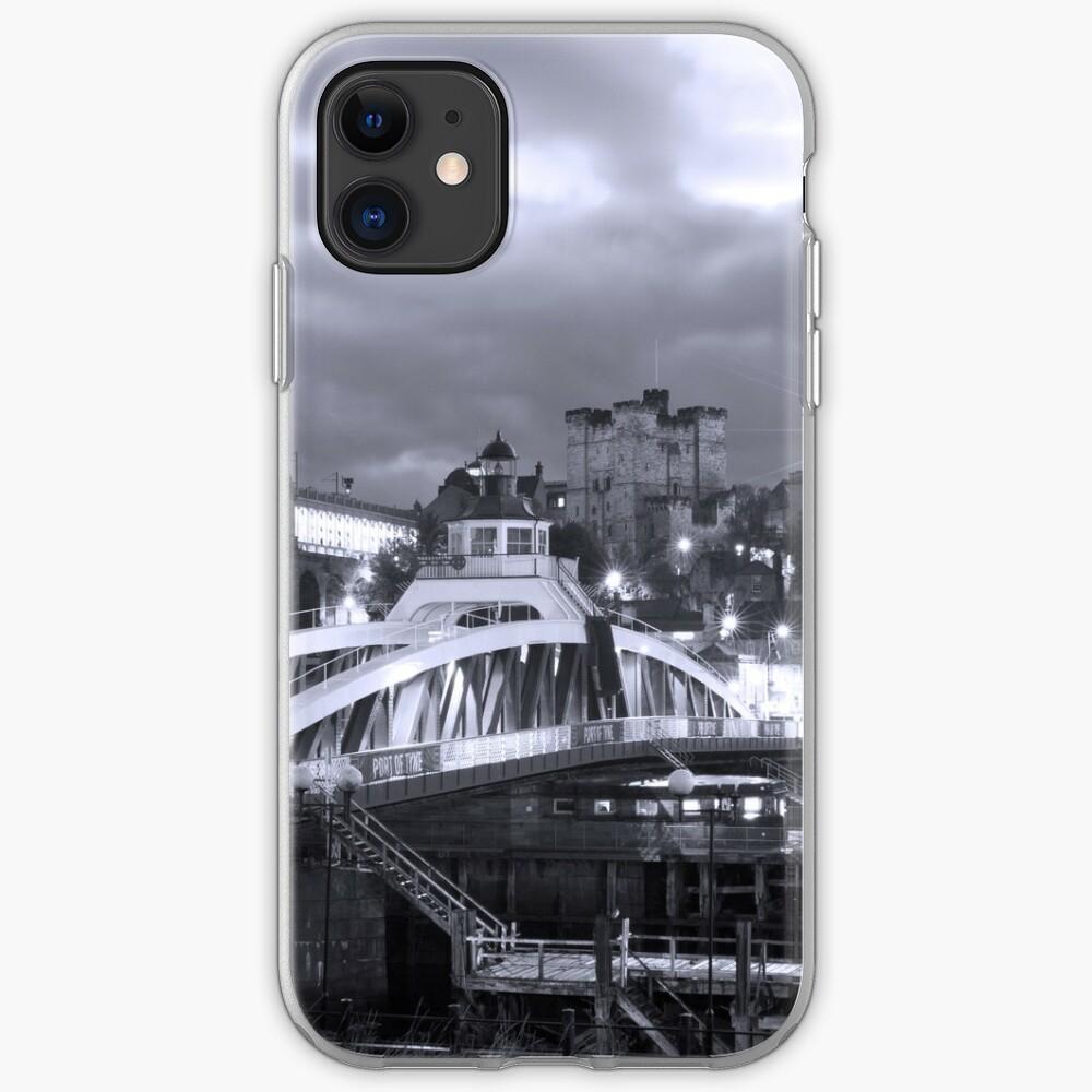 Swing Bridge Skyline, Newcastle upon Tyne iPhone Case & Cover