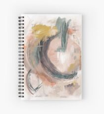 Abstract Nature Palette Spiral Notebook