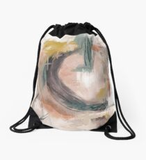 Abstract Nature Palette Drawstring Bag