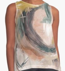 Abstract Nature Palette Sleeveless Top