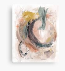 Abstract Nature Palette Metal Print