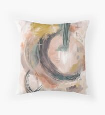 Abstract Nature Palette Floor Pillow