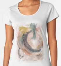 Abstract Nature Palette Premium Scoop T-Shirt