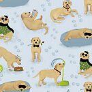 Doggie Fun Time by Caroline Wilkie Studio