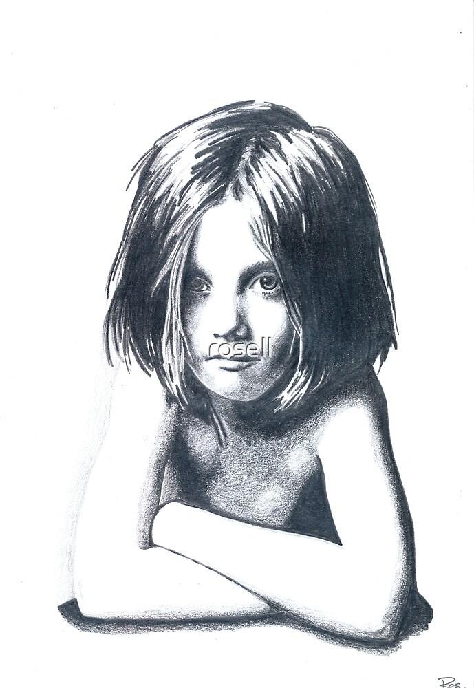 """""""strange little girl"""" by rosell"""