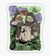 Owl old story Sticker