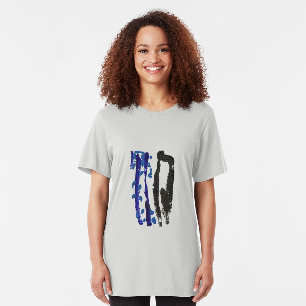 Black & Blue Slim Fit T-Shirt
