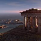 Greek Temple by Inigo Quilez