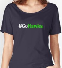 Go Hawks! Women's Relaxed Fit T-Shirt