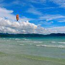 Kite Surfing by Denis Molodkin