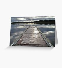 Carrick on Shannon Marina #1 Greeting Card