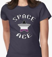 Asexual Star [Space Ace Version] Womens Fitted T-Shirt