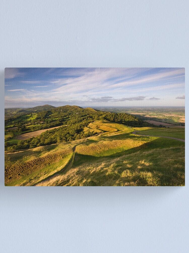 Alternate view of The Malvern Hills : British Camp Canvas Print