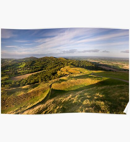 The Malvern Hills : British Camp Poster