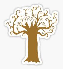 The music tree Sticker