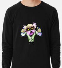 Mad gnome scientist Lightweight Sweatshirt