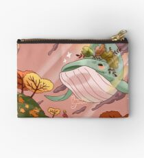 Giant Whales Zipper Pouch