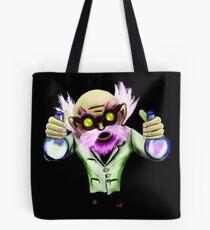 Mad gnome scientist Tote Bag