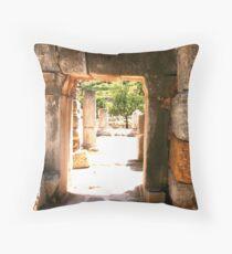 Ruins at Ephesus Throw Pillow