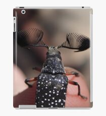 Feather-horned Beetle iPad Case/Skin