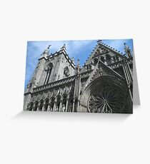 Nidaros Domkirke Greeting Card