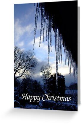 Ice View - Christmas Card by Samantha Higgs