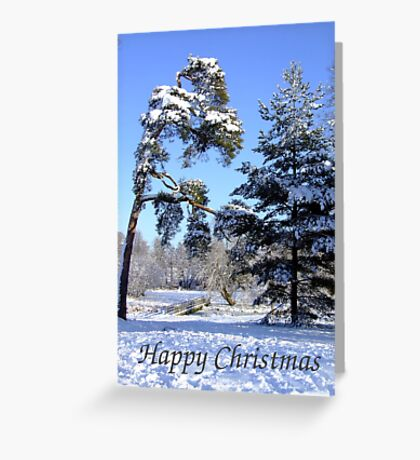 Winter Walk - Christmas Card Greeting Card
